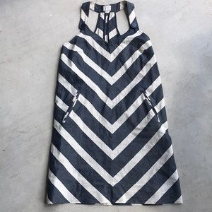 Anthropologie 9-h15 stcl Chevron Stripe Dress, 08